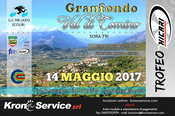07.12.2016 - Granfondo Valle di Comino-Trofeo Hicari 14052017 locandina