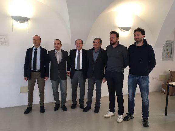 Giuseppe Zoccante, 3^ da dx col nuovo Consiglio Provinciale FCI di Trento . (Foto di Mosna Natascia G.