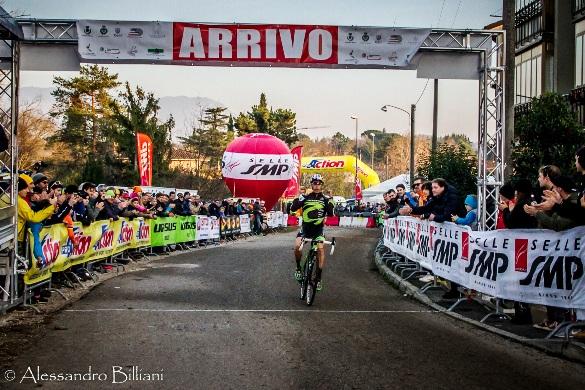 Il milanese Marco Aurelio Fontana vince a Gorizia (Foto Balliani)