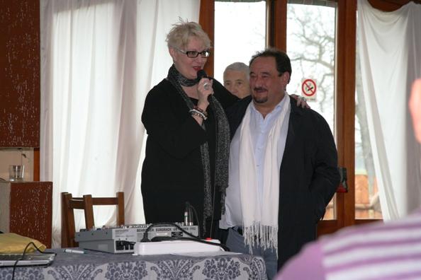 Vicepresidente Nazionale, Daniela Isetti e Rocco Marchegiano Presidente uscente