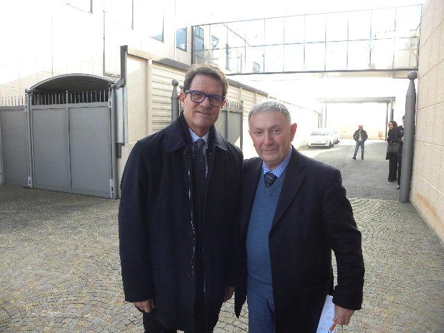 Da sx, Fabio Capello e Vito Bernardi (Foto Nastasi)