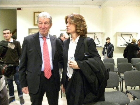 Felice Gimondi con sua figlia Norma (Foto Nastasi)