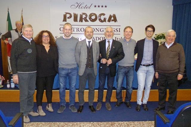 Il nuovo Consiglio Direttivo del C.R.-FCI Veneto (Photobicicailotto)