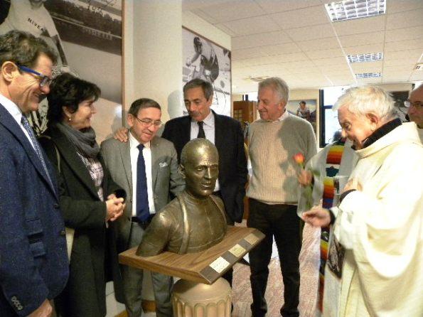 Momento della Benedizione del Busto di Fiorenzo Magni (Foto Nastasi)