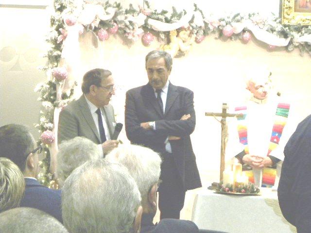 Da sx, Colnago, Bartoletti e Don Felice (Foto Nastasi)