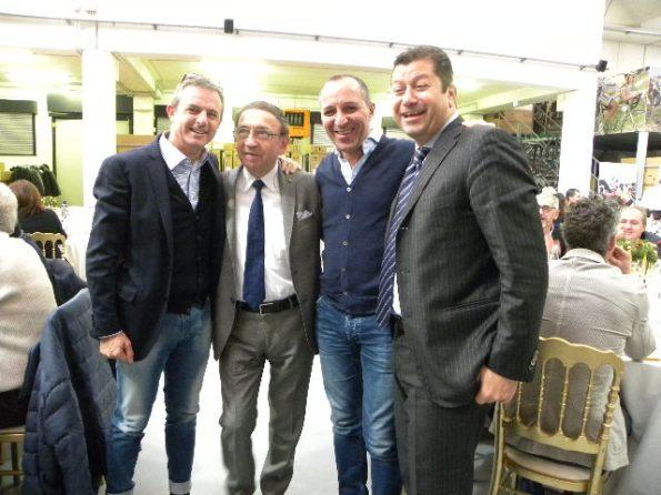 Da sx, Perego, Colnago, Dagnoni e Zini (Foto Nastasi)