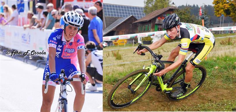 Silvia Persico e Stefano Sala vincitori gare Elite Donne e Uomini a Somma Lombardo