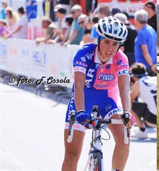 Silvia Persico vincitrice gara Donne Elite a Somma Lombardo