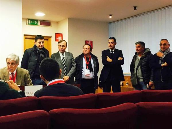 Un momento dell'Assemblea Elettiva FCI CR Lazio