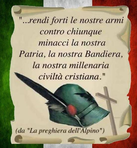 22.12.2016 - Cappello E Preghiera Alpini