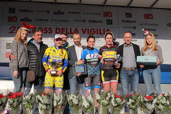 Donne Junior, podio a Lurago Erba (Foto Kia)