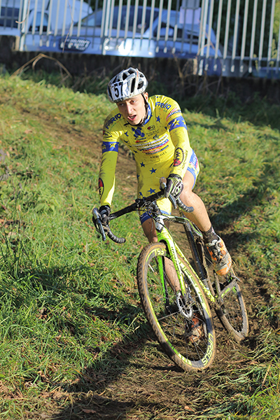 Juniores Loris Conca 2^ classificato a Lurago Erba (Foto Kia)