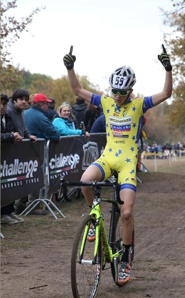 Luca Pescarmona vince gara allievi 2^ anno (Foto Soncini)