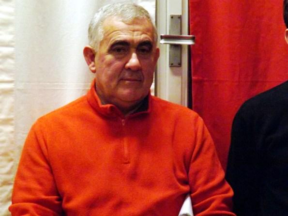 Il neo Presidente del CP-FCI di Mantova, Fausto Armanini (Foto Paolo Biondo)