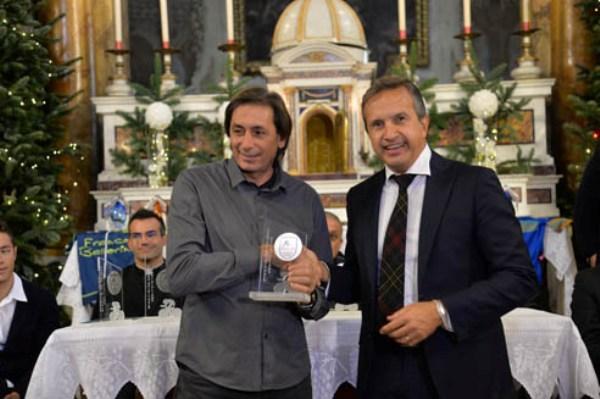 Franco Chioccioli con Giacinto Gelli (Foto Remo Mosna)