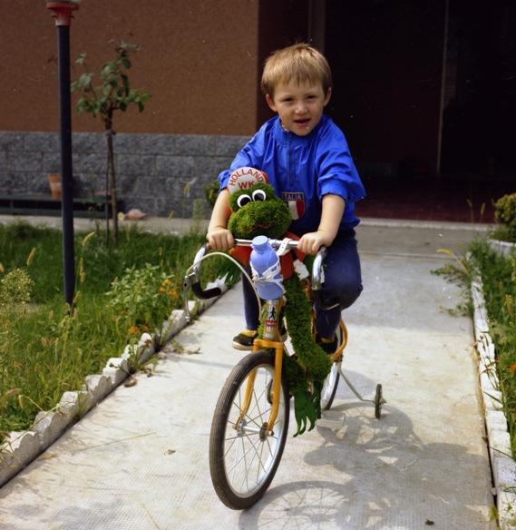 Christian Pisoni...tanti anni fa... (Foto di Antonio Pisoni)