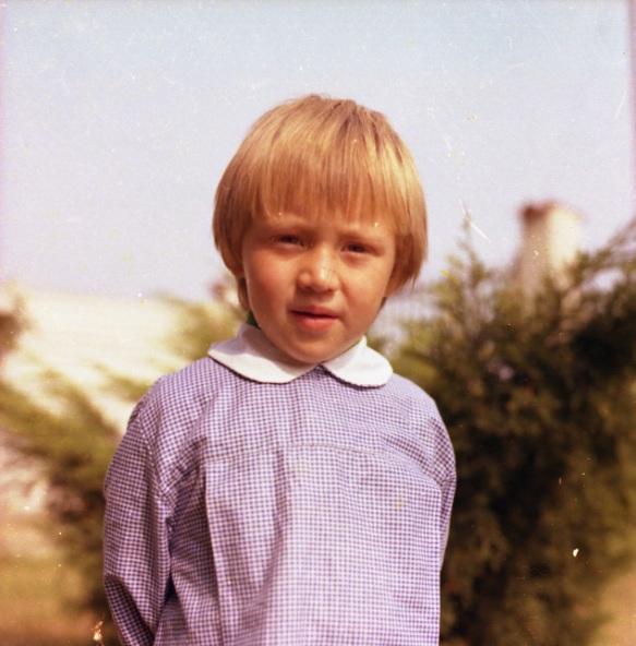 Christian Pisoni da bambino e...in borghese...(Foto Antonio Pisoni)