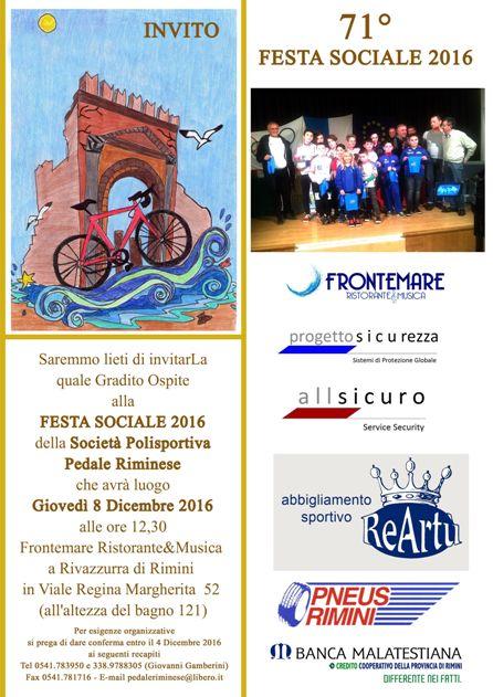 Festa sociale 2016