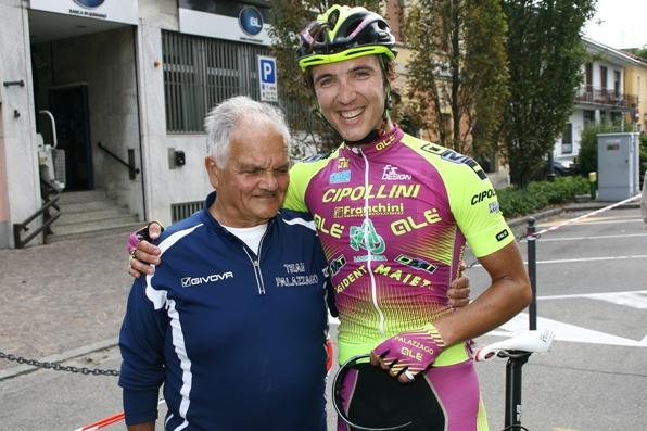 Gianluigi Giambelli qui con Marlen Szmorka a Turbigo 2014. vittoria nel Trofeo Raffaele Marcoli (Foto di Berry-Paolo Radaelli)