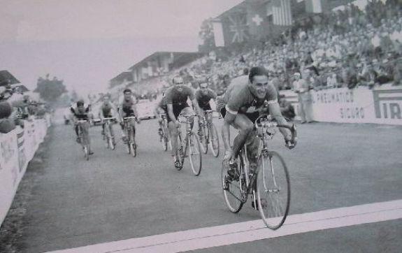 """Kubler vinse il Mondiale di Varese 1951 battendo il nostro Terzo Uomo, """"Fiorenzo Magni"""""""