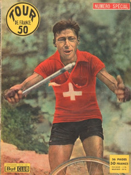 Ferdi Kubler vincitore del Tour de France 1950