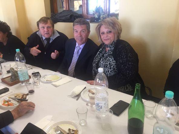 Giacomo Bacci al centro e, Maria Bruni (Foto Nastasi)