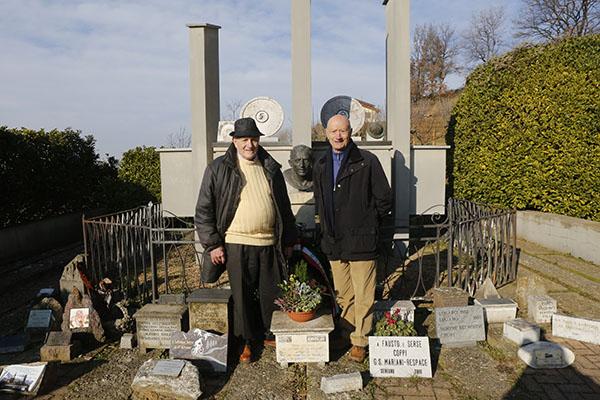 Due Olimpionici di Roma 1960, Toni Bailetti a sx e Marino Vigna (Foto Pisoni)