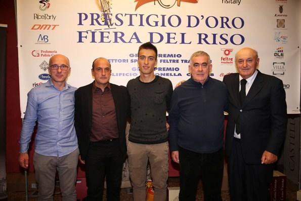 Da sx, Pezzini, Faresin, Bresciani, Armanini e C