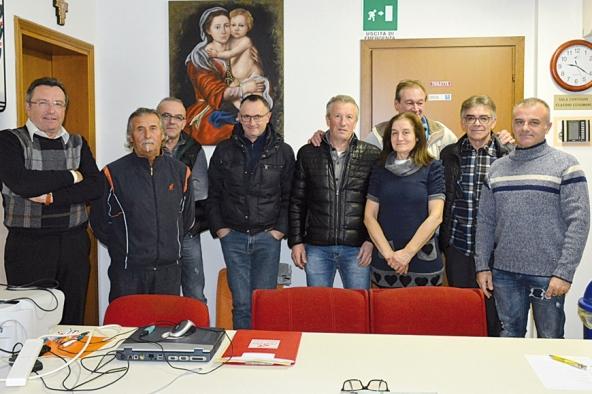 Il nuovo direttivo del Ciclo Club 77 (Foto Paolo Biondo)