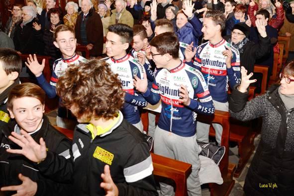 Giovani Ciclisti alla Castellina (Foto di Luca Venturi)