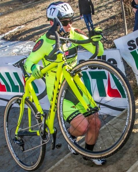 Marco Colombo, ciclocrossista di Dairago