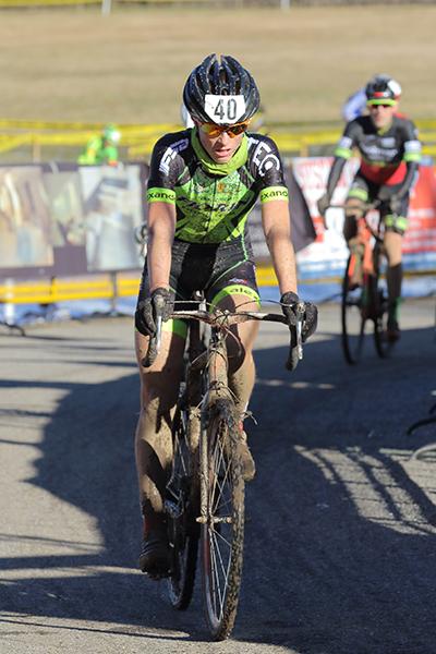 Francesco Carollo, 4^ classificato gara odierno e vincitore classifica generale Juniores (Foto Kia Castelli)