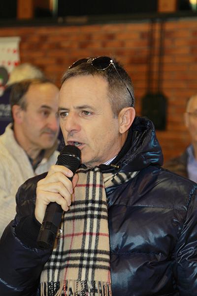 Il saluto del CR-Lombardo rappresentato dal vicepresidente Fabio Perego (Foto Kia)