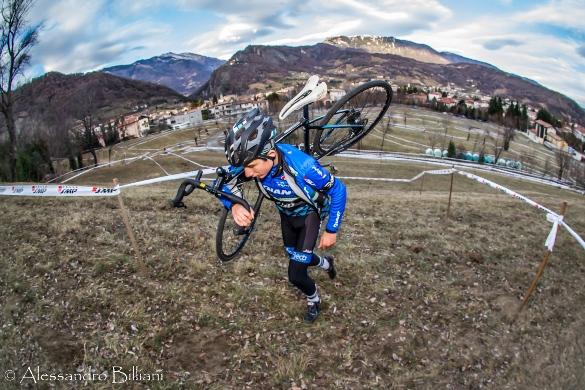 Veduta sul percorso Ciclocrossistico di Vittorio Veneto (Foto Alessandro Billiani)