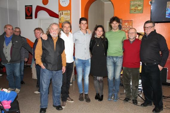 Athos, Zecubi, Peron, Edward, Titolari Bar New Deal, Mazzuchelli (Foto Lavazza Valentino)