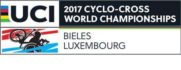 20.01.2017 - logo campionati mondiali Bielea Lussemburgo Ciclocross