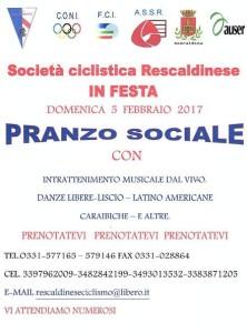 21.01.2017 - LOCANDINA FESTA SOCIALE DEL 5.2.17