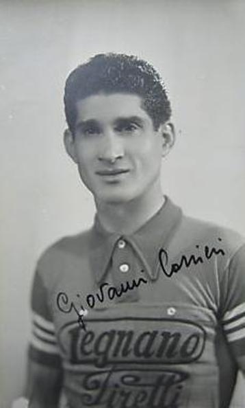 """Giovanni Corrieri, """"La Freccia Siciliana"""" in maglia Legnano"""