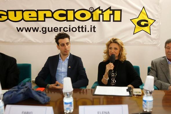 Dr.ssa Elena Grisi e Fabio Aru (Foto Pisoni)