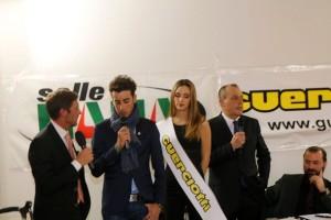 Fabretti intervista Aru (Foto Pisoni)