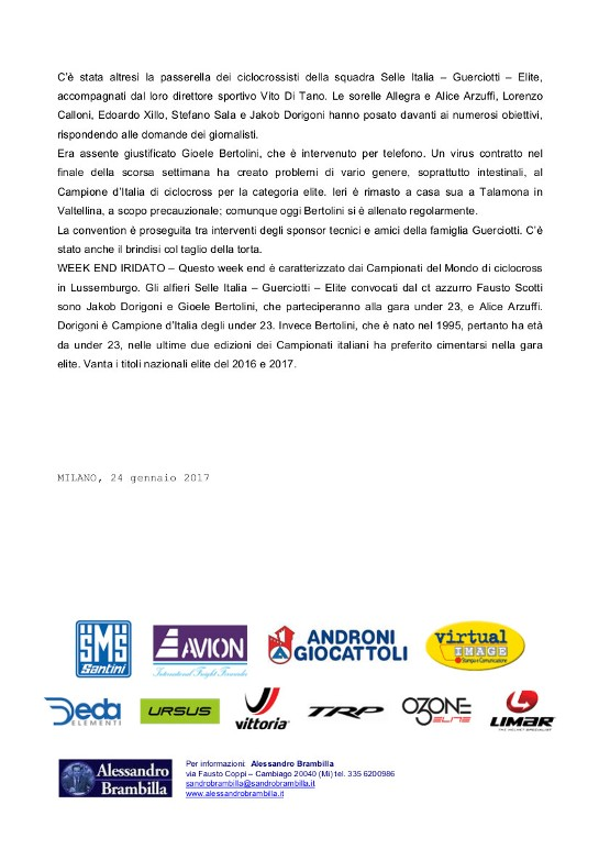 24-1-2017  2 COM --- GUERCIOTTI