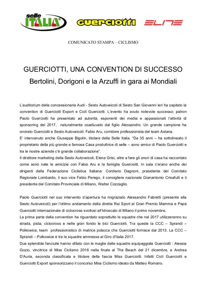 24-1-2017 COM --- GUERCIOTTI