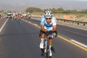 La fuga dei 13 guidati da Juan Molina (Argentina) - 4st stage San Martin - San Martin 160,5 km - 26/01/2017 - - photo Roberto Bettini/BettiniPhoto©2017