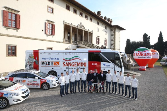 Presentation Sangemini - Mg Kvis 2017 - Team Presentation and Press Conference - 27/01/2017 -  - photo Dario Belingheri/BettiniPhoto©2017