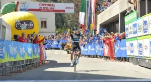 Mikel Landa vince tappa Anras Giro Trentino 40^ edizione (Foto Daniele Mosna)
