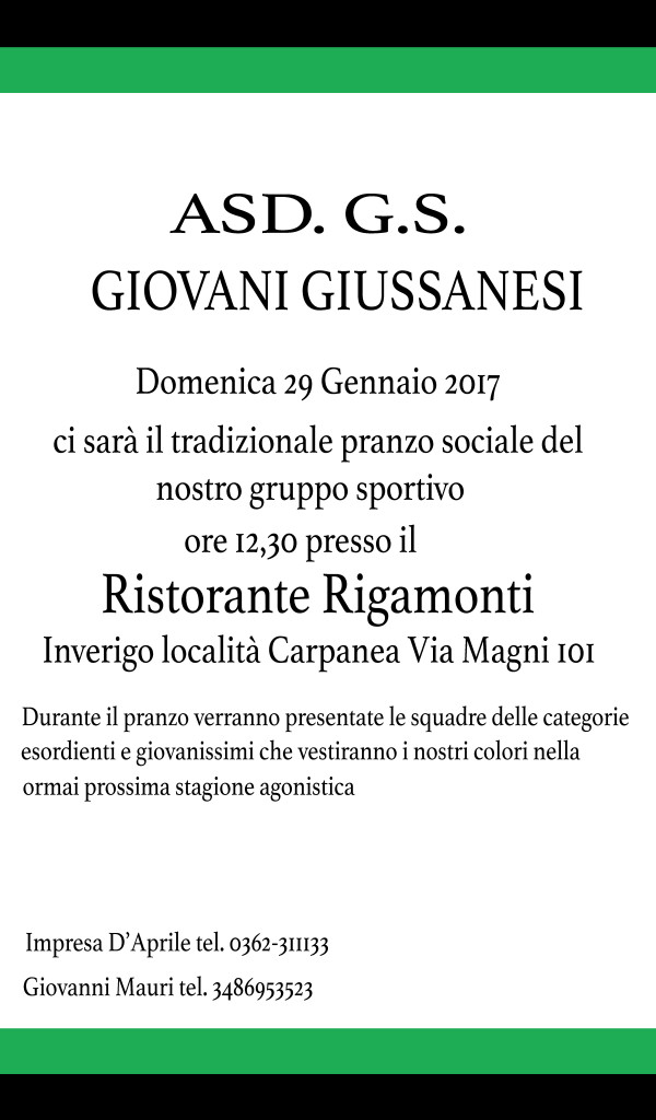 27.01.2017 - volantino pranzo sociale 2017