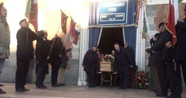 Funerale del Generale Luigi Casini (Foto Luigi Frigo)