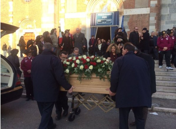 31.12.2016 - Generale Luigi Casini - Funerale a Legnarello (Foto Luigi Frigo)