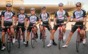 Squadra per la Vuelta a San Juan