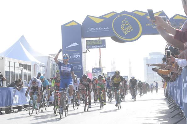 Marcel Kittel vince anche 2^ tappa (Foto Ansa)
